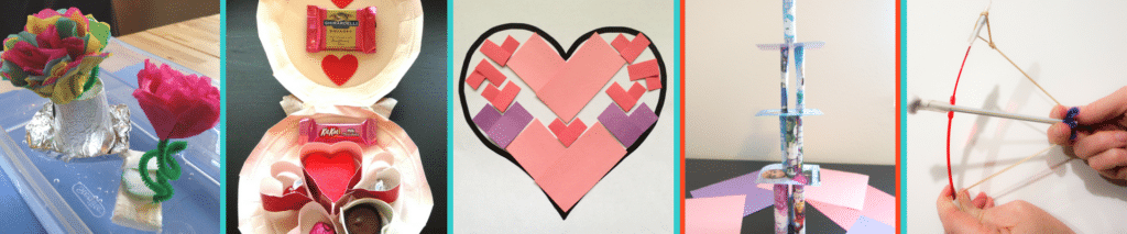 Valentines Day STEM Challenge Activities