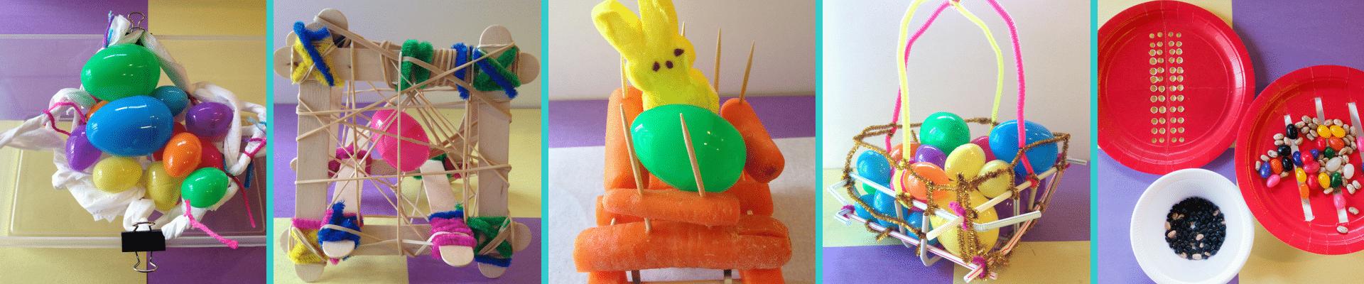 Easter STEM Challenge Activities