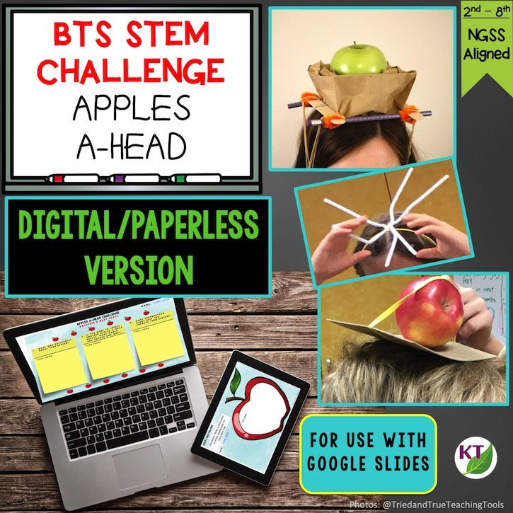 Apples A-head STEM Challenge Paperless Resource Cover