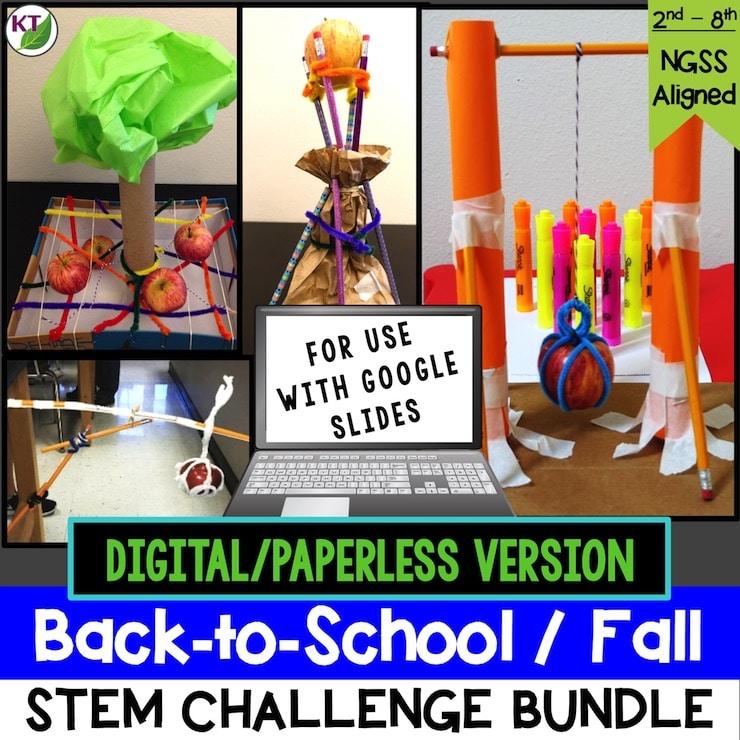 BTS STEM Bundle Paperless Cover