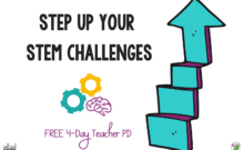 Step Up Your STEM Challenges Teacher PD