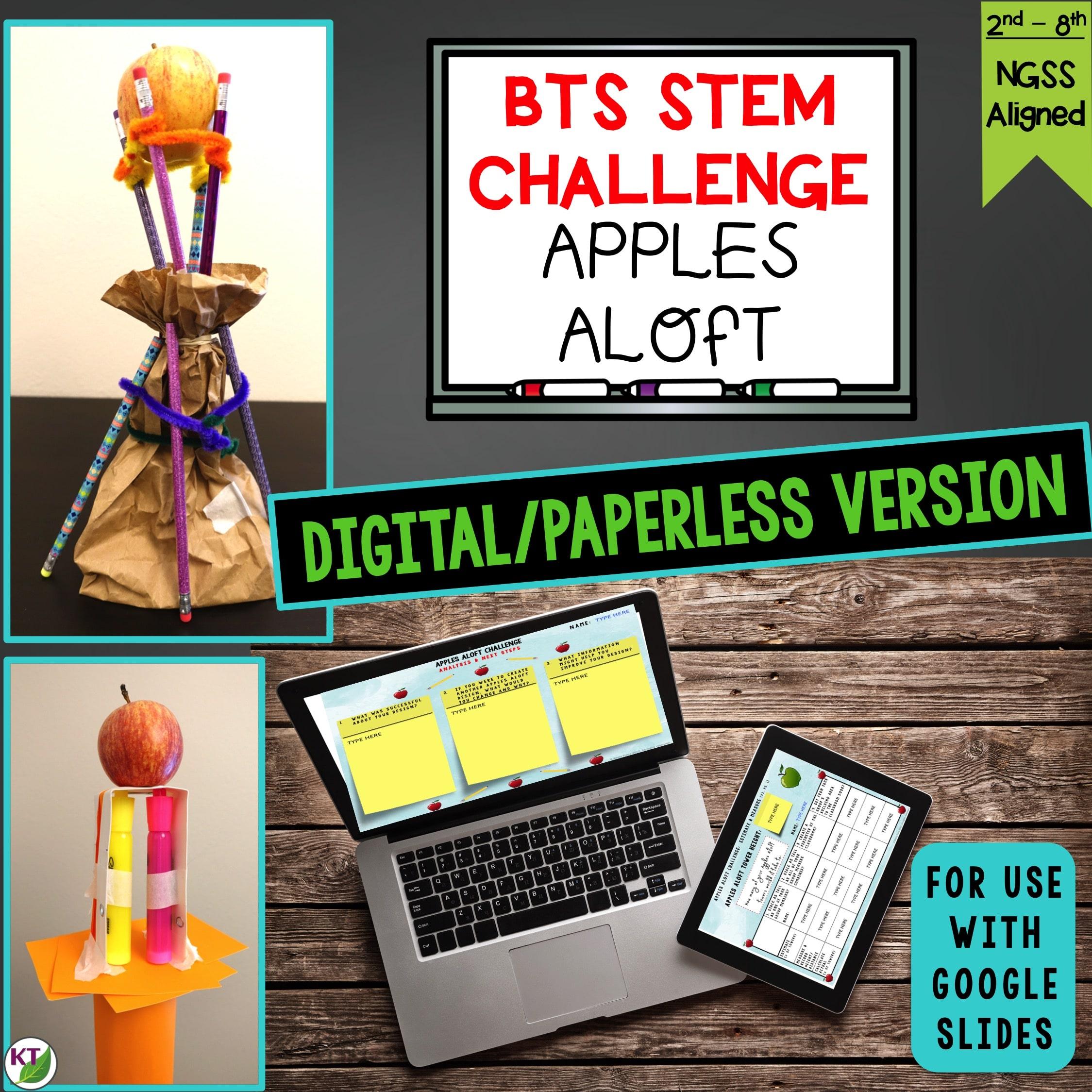 Apples Aloft STEM Challenge Digital Cover