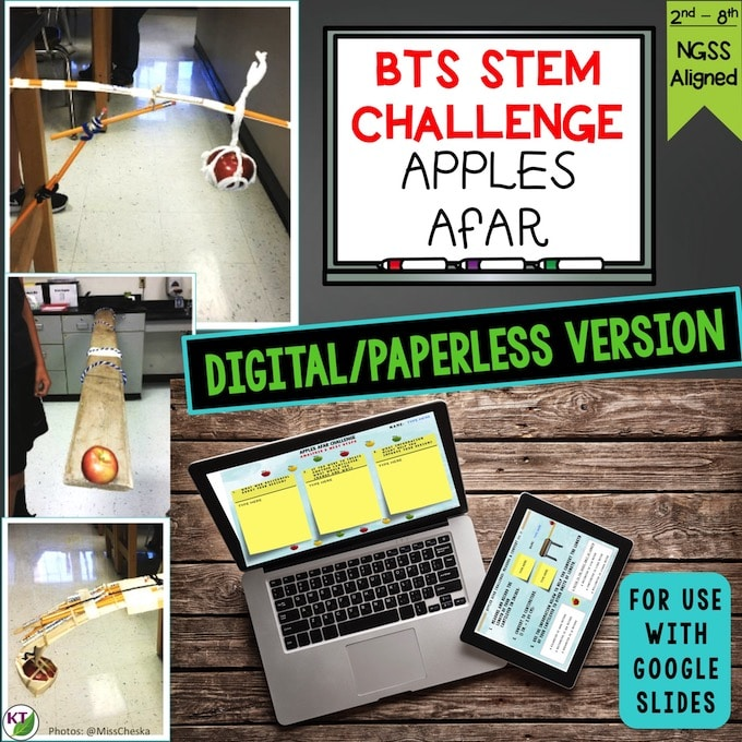 Apples Afar STEM Challenge Paperless Cover