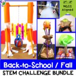 Back to School STEM Challenge Bundle Cover