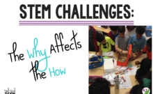 "Your STEM Challenge ""whys"" should guide your STEM Challenge ""hows"", but do they?! I've laid out some dos and don'ts for before, during, and after STEM Challenges and how they trace back to all the benefits I want my students to gain from doing STEM Challenges. Click through to see how my whys affect my how, and pick up some ideas for facilitating richer STEM Challenge experiences for your students!"
