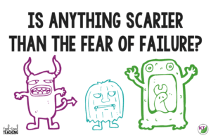 One of the trickiest and scariest problems teachers face is helping students overcome the fear of failure with growth mindset traits like resilience, grit, persistence and determination. The fear of failure can so adversely affect our students lives that I'm devoting a whole month to it -- the scariest month of the year -- Failtober! Click through to the blog to see what's in store!