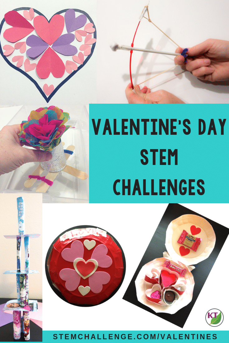 Valentine's Day STEM Challenges are the perfect activities to keep your students engaged and feeling the love this Valentine's Day! Click through for details, blog posts, video walk-throughs and more for all five Valentine's STEM Challenges! Modifications included for grades 2 -8.
