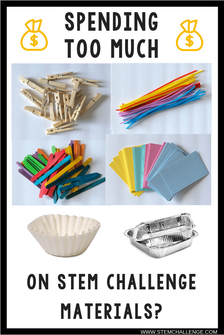 Ever wonder if you're getting the best deal on STEM Challenge materials? Me too! So I took to four common retailers and did some comparison shopping. Click through to the blog to see where to get the best deals on STEM Challenge materials!