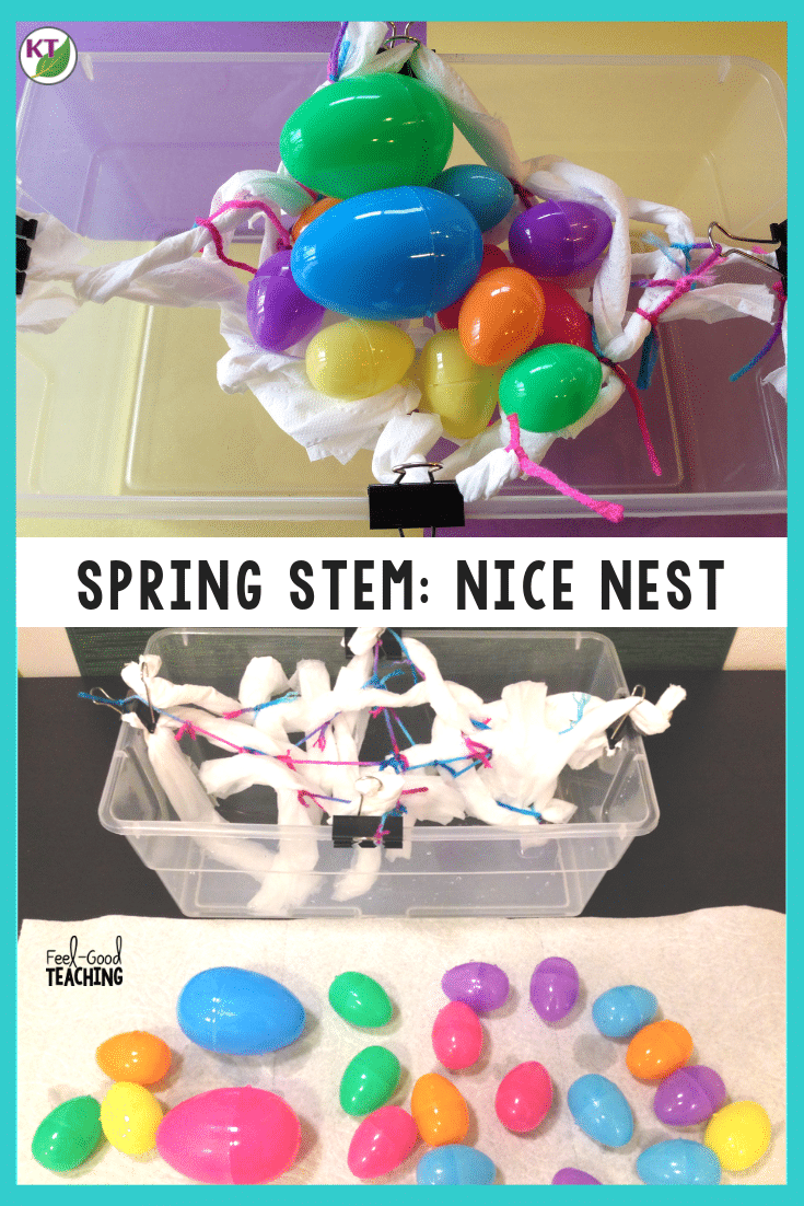 The Nice Nest Spring STEM Challenge provides so many connections, not just to STEM, but to ELA, art, and even character education. Click through to the blog post to get video walk-throughs, book lists, and more!