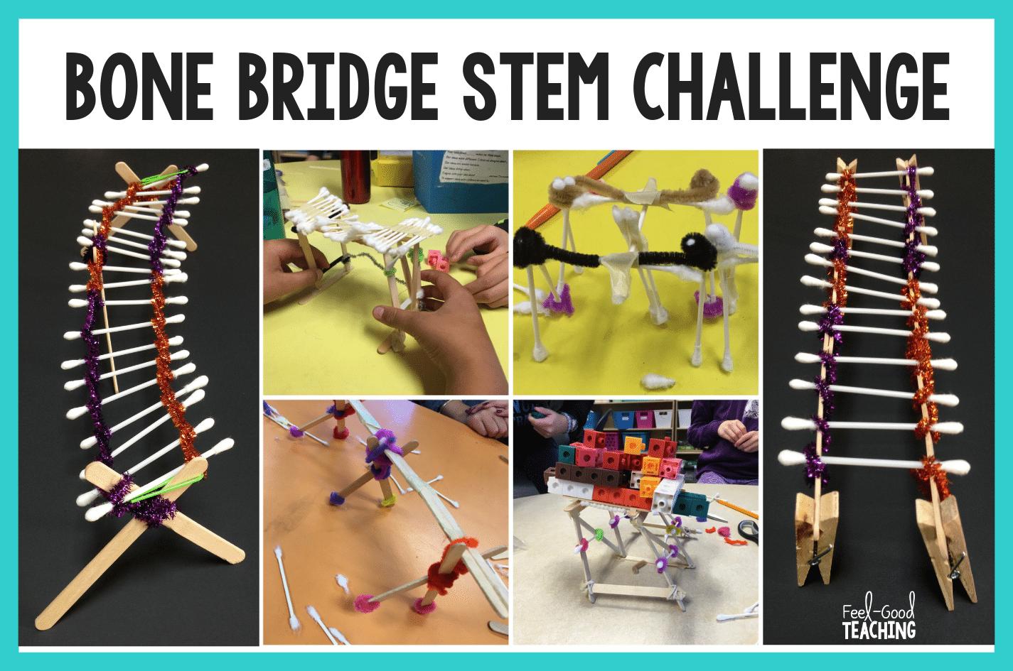 Halloween Stem Challenge Bone Bridge Stem Challenges