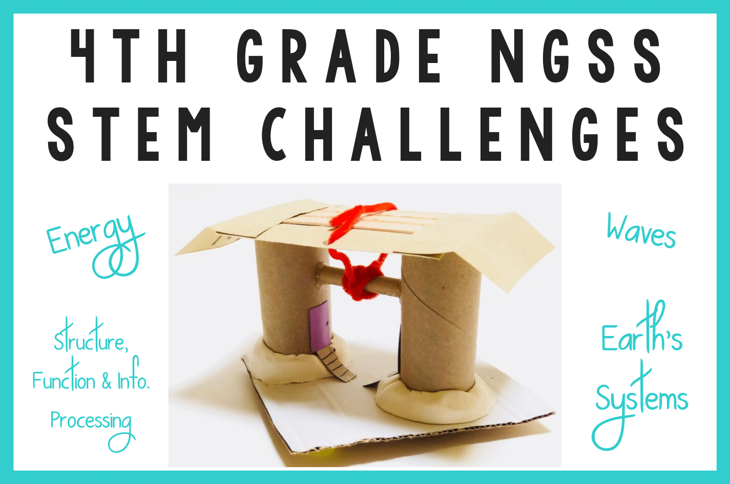 4th Grade Ngss Stem Challenges Stem Challenges
