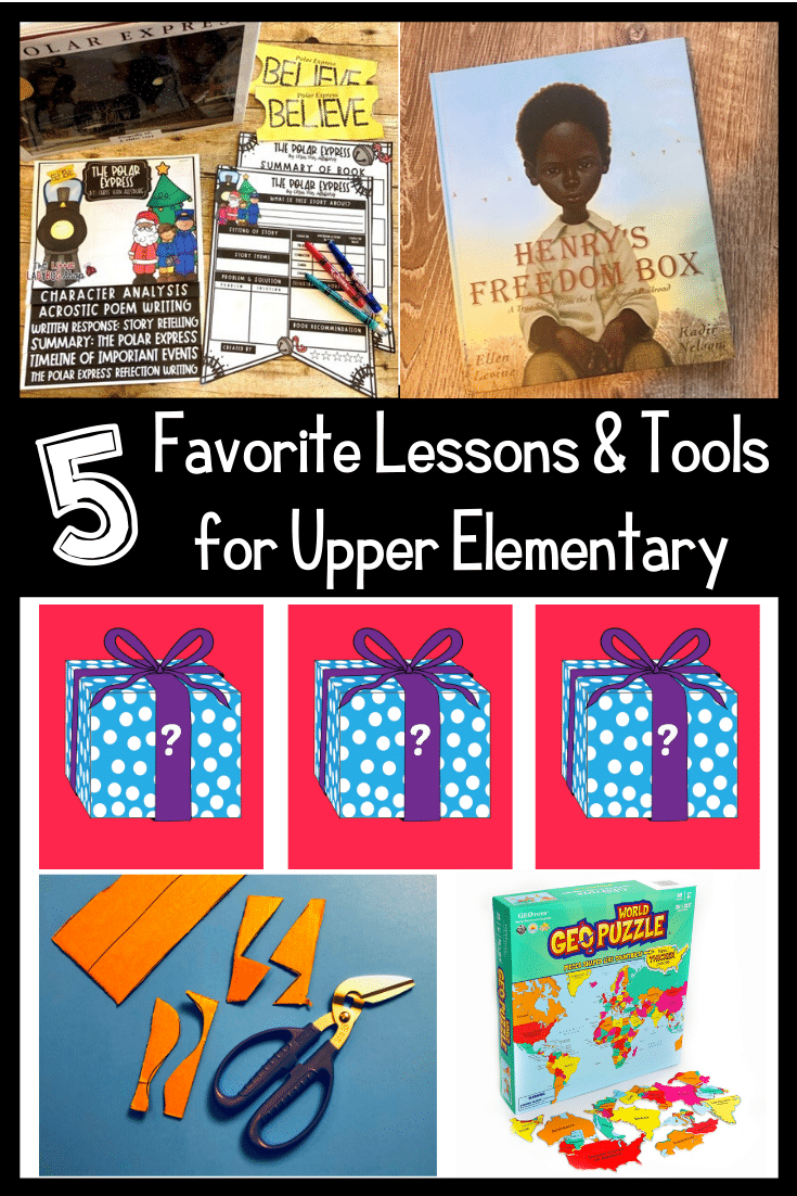 Check out our 5 favorite tools and lessons for upper elementary teachers!